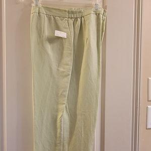 3 piece linen pants suit